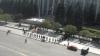 Следите ОНЛАЙН за тем, как демонтируют палатки у здания правительства