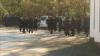 Ленин окружен полицейскими (ФОТО)