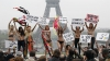 Активистки FEMEN провели в Париже акцию солидарности с женщинами Ближнего Востока