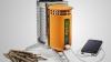 Изобретено зарядное устройство, работающее на дровах