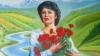Люди несут цветы и свечи к Национальному театру оперы и балета (ВИДЕО)