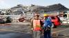 Торнадо на востоке Японии привело к большим разрушениям