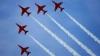 """Британская эскадрилья """"Красные стрелы"""" выступит в небе над Москвой"""