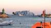 В Италии демонтируют лайнер Costa Concordia