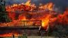 Огонь пожирает дома в Колорадо