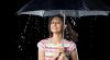 Зонт научили играть мелодию во время дождя