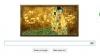 Google отметила логотипом 150-летие художника Густава Климта