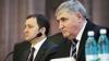 Влад Филат обсуждает реформу полиции в отсутствие Алексея Ройбу