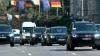 Меркель сопровождают немецкие машины (ВИДЕО)