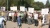 Работники Театра оперы и балета вновь вышли на акцию протеста