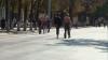 Кишиневцы довольны появлением пешеходных зон: есть где погулять, покататься на роликах