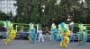Молодежь развлекалась на бразильском карнавале в Кишиневе