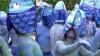Активисты Greenpeace в костюмах рыб и русалок протестовали у мэрии города Вальпараисо