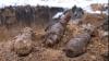 На стройке в столичном районе Ботаника нашли боеприпасы