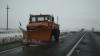 Власти нынешней зимой намерены мониторить заснеженные дороги при помощи спутниковой системы
