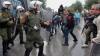 В Салониках манифестанты напали на охрану немецкого дипломата