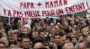В Париже задержаны противники однополых браков, напавших на Femen