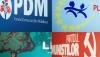 БОМ: ПКРМ - 24,6%; ЛДПМ - 22%; ДПМ - 11,2% и ЛП - 9,1%