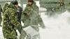 На борьбу с сугробами брошены силы Национальной армии Молдовы