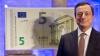 Президент Европейского центрального банка представил новую банкноту - 5 евро