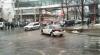 Автомобиль, принадлежащий дорожной полиции, припаркован в неположенном месте в центре столицы