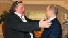 Президент России Владимир Путин встретился с французским актером Жераром Депардье