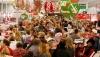 В зимние праздники бойко шла торговля на рынках и в магазинах