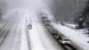 Три населенных пункта все еще остаются заблокированными из-за снежных заносов