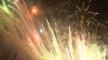 Фейерверки, осветившие столицу в новогоднюю ночь (ВИДЕО)