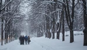 Оранжевый код в связи со снегопадами в центре и на севере страны