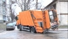 На Буюканах застрял мусоровоз: водитель три часа ждал подмоги