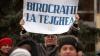 Протест у Дворца республики (ФОТО)