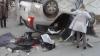 Около посольства Франции в Кишиневе столкнулись два автомобиля (ФОТО)