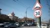 В Кишиневе появились участки дорог с ограничением скорости в 30 км/ч