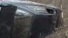 Автомобиль слетел с дороги и перевернулся на столичной улице Алеку Руссо (ВИДЕО)