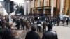 Перед Дворцом республики проходит акция протеста