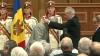 Депутаты первого молдавского парламента по-разному восприняли награждение президентом
