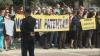 Протест у Дворца республики: торговцы требуют возвращения к патентам