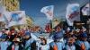 На демонстрацию в центре Москвы собрались около 70 тыс человек