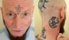 Татуировки на голове британца отпугивают работодателей