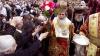 Тысячи паломников собрались в Храме Гроба Господня в Иерусалиме