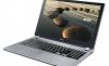 Acer анонсировала новые ноутбуки серии Aspire V