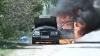 В Окницком районе загорелся автомобиль