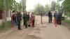 Жители села Егорены перекрыли дорогу, ведущую к карьеру
