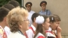 В напряженной атмосфере прошла торжественная линейка в гимназии села Коржево