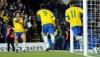 Сборная Англии сыграла вничью в товарищеском матче против Бразилии
