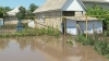 В селе Молешты Яловенского района затопило дома и огороды