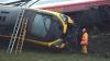 В Великобритании столкнулись два поезда, есть пострадавшие