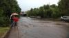 Затопленные после дождя улицы будут закрыты для транспорта