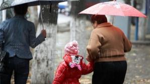 Желтый код опасности в связи с проливными дождями: Кишинев заливает